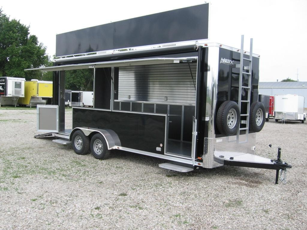 On the road with custom mobile marketing trailers at 99 west trailers